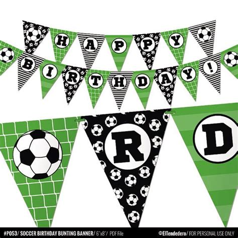 printable soccer banner 132 best images about football party on pinterest