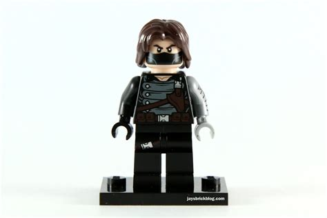Lego Brick Decool Civil War Winter Soldier Minifigure Baru Lego review lego 5002943 winter soldier polybag