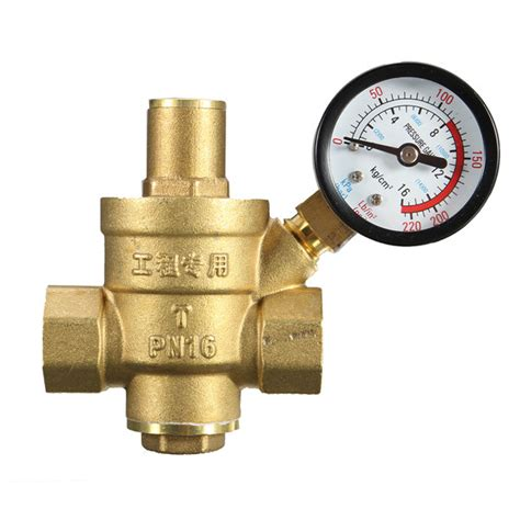 water pressure regulator dn25 1 inch brass water pressure regulator valve with pressure water pressure reducing