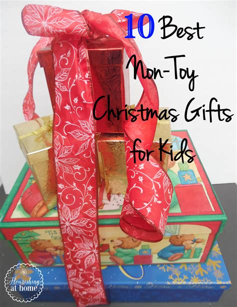 10 of the best non toy christmas gifts for kids at home