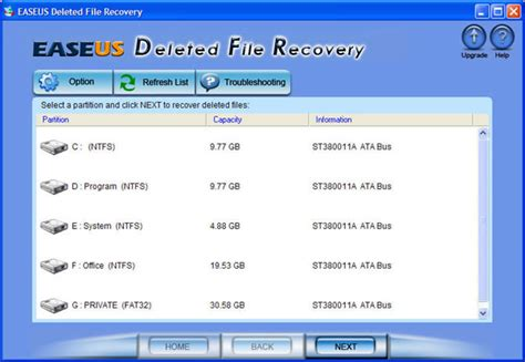 delete file recovery software free download full version easeus deleted file recovery 5 0 1 freeware download