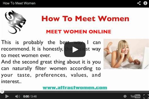 how to meet women l how to approach seduce women how to meet women the 3 best ways to meet women attract