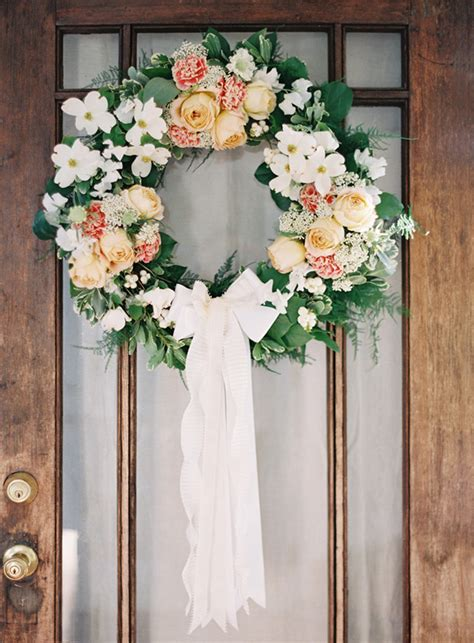 diy wreath ideas diy wedding wreath once wed