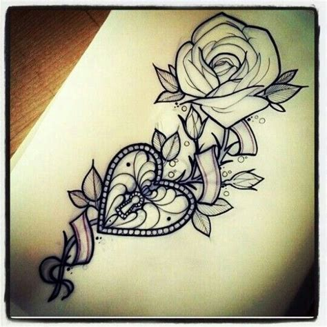 rose and locket tattoo 17 best ideas about lock on lock key
