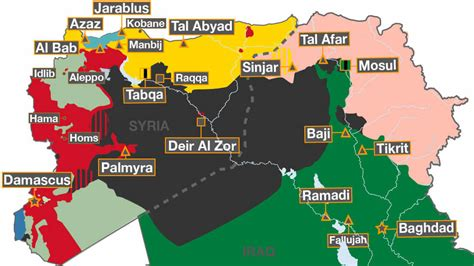 syria live map mapped the battle against isil syria al jazeera