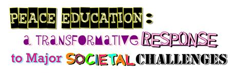 Themes Of Peace Education | peace education peace theme 2 challenging prejudice and