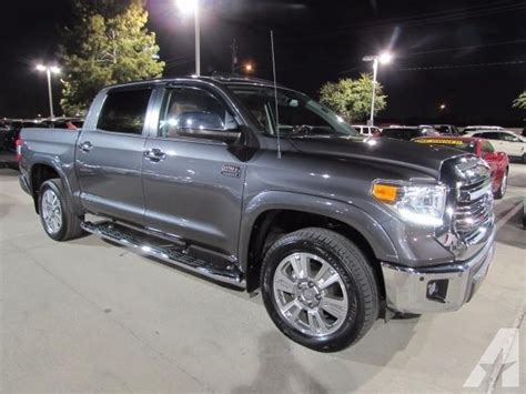 Toyota Tundra For Sale In Toyota Tundra Crewmax Limited 5 7l V8 Ffv For Sale 239