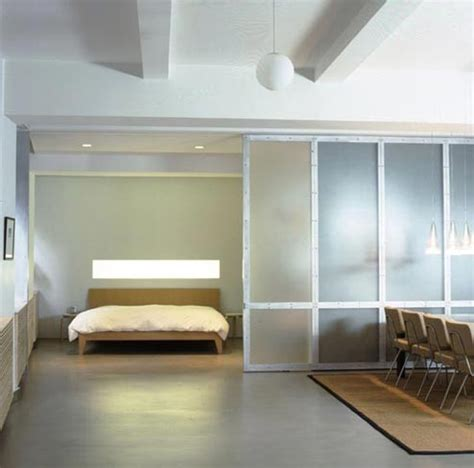 loft room dividers loft modern bedroom new york by fiedler marciano architecture