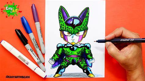 imagenes kawaiis de dragon ball dragon ball kawaii como dibujar dragon ball cell how to