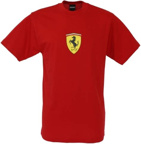 T Shirt Ferari t shirt with large scudetto print sfr1118
