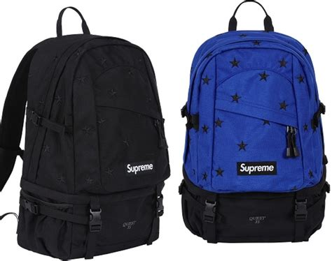 supreme bag supreme fall winter 2013 backpack and bags collection