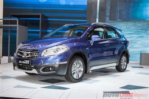 Maruti Suzuki K India Made Maruti Suzuki S Cross 1 5 Debuts In Indonesia