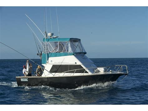 used boats cairns 1994 cairns custom craft 8 5mt game boat for sale trade
