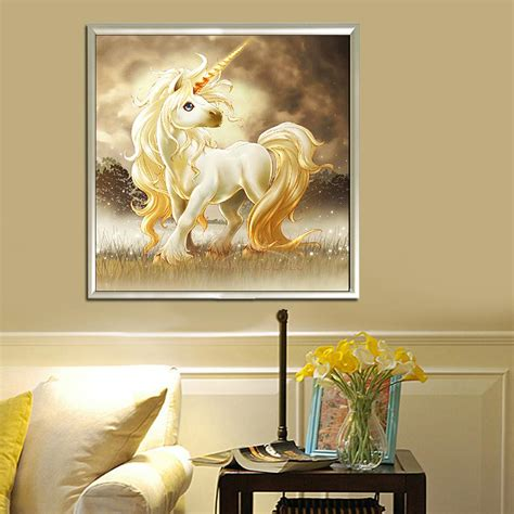 30x56cm diy unicorn diamond painting embroidery home decor diy 5d unicorn diamond painting cross stitch rhinestone