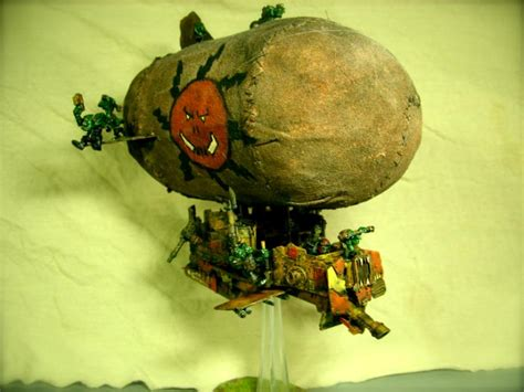 battlewagon blimp conversion grots orks blimp g2
