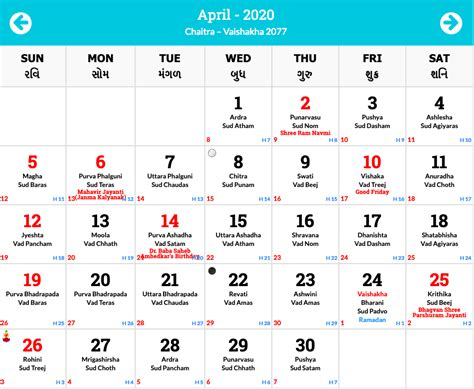 hindu calendar  hindu panchang