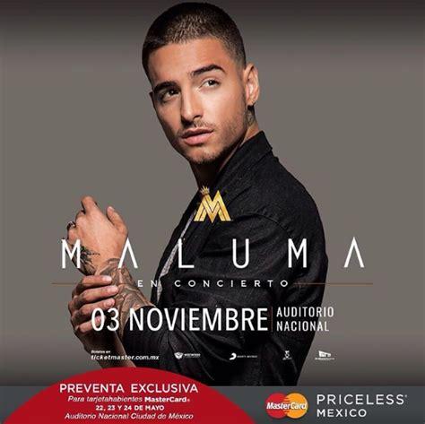 maluma en concierto 2016 concierto de maluma en ciudad de m 233 xico m 233 xico 03 de
