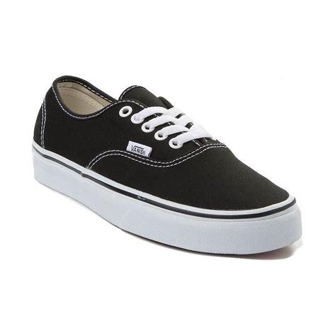 vans authentic skate shoe black 499281