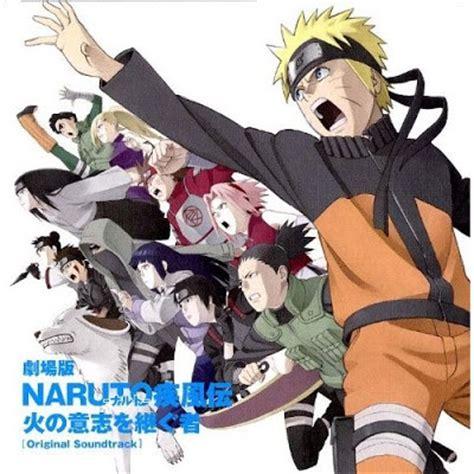 naruto movie themes crunchyroll library list ost naruto shippuden opening