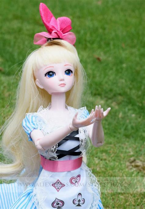 jointed doll 1 4 1 4 bjd doll 45cm 18 jointed dolls doll white