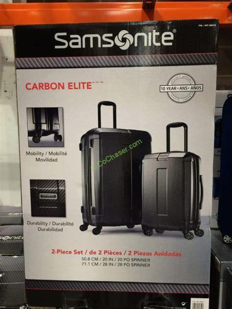 costco  samsonite carbon elite p hairside set box costcochaser