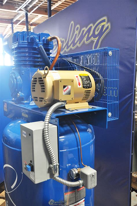 brand  quincy reciprocating vertical air compressor