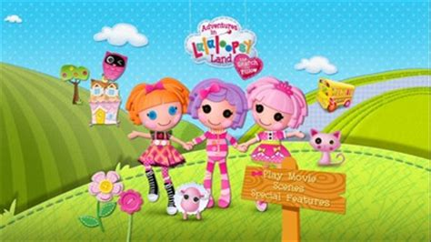 adventures in lalaloopsy land search for pillow dvd
