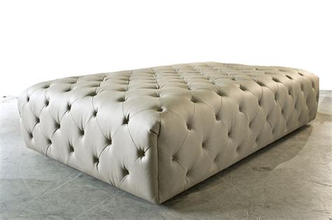 Large Tufted Ottoman Ottomans Poufs Pinterest How To Make A Large Ottoman