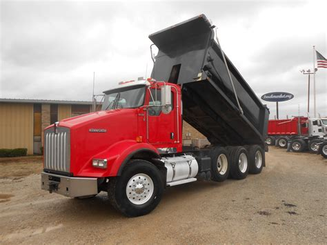 used kw trucks for sale used 2008 kenworth t800 dump truck for sale in ms 6433