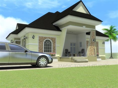 bungalow house with 4 bedrooms modern bungalow house four