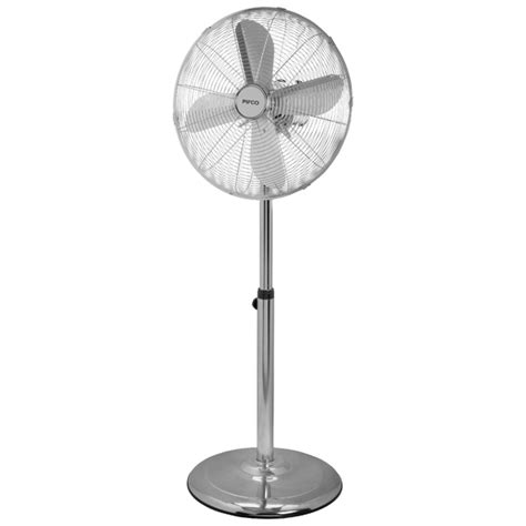 challenge 16 inch pedestal fan chrome pifco p40002 16 inch chrome stand fan iwoot