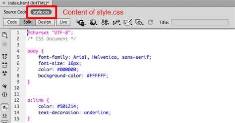 css layout source code web design publishing dreamweaver tutorial 3