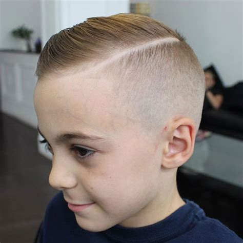 short boy haircuts with a hard part 30 cool haircuts for boys 2018