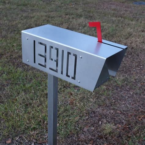 stainless steel mailbox stainless steel mailbox modern home