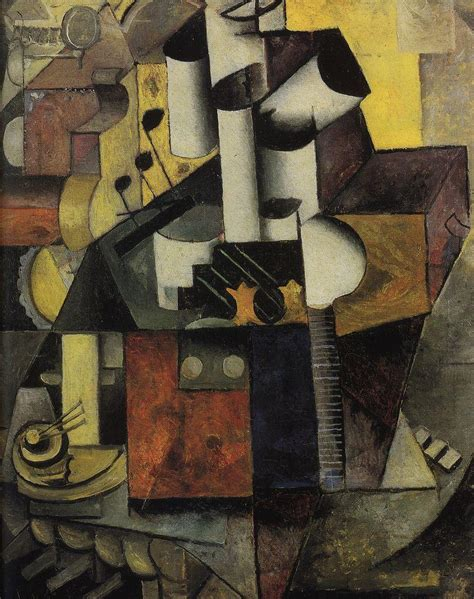 picasso paintings with musical instruments musical instrument 1913 kazimir malevich wikiart org