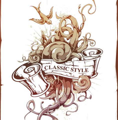 tattoo flash for beginners create an abstract tattoo design in adobe illustrator
