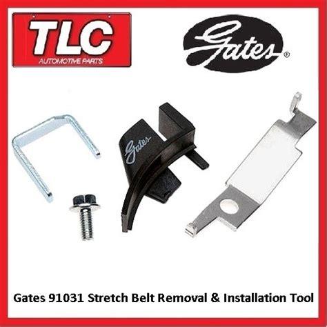 seat belt removal tool gates 91031 subaru stretch belt installation fitting