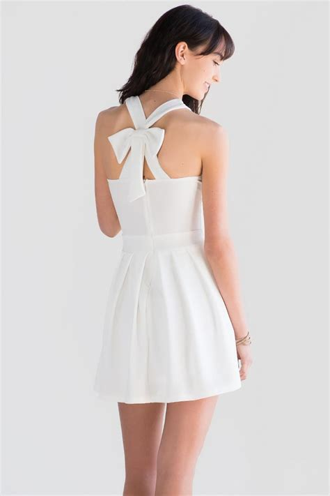 Back Bow Dress bow back dress s