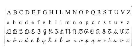 caratteri delle lettere imparare la lingua italiana