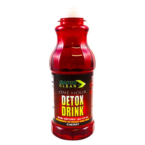 Detox Drinks For by Rapid Clear Cherry Detox Drink