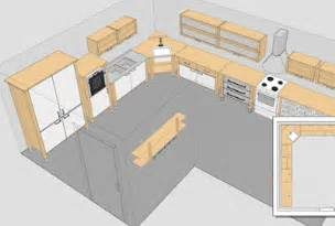 Design A Kitchen Free Online by Kitchen Design Software