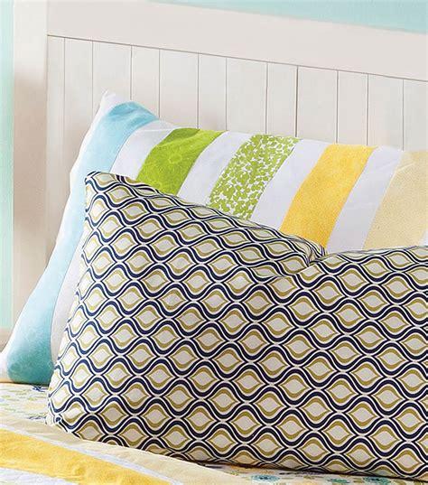 pillow shams keepsake stripe joann jo
