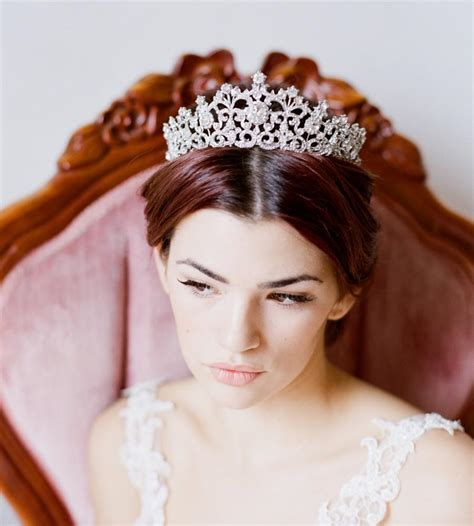 Braut Diadem by Bridal Tiara Swarovski Tiara Elora Swarovski