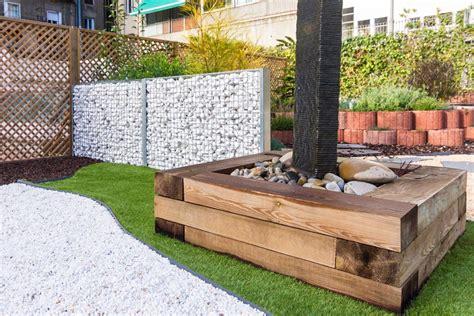 traviesas jardin travessa traviesas ecol 243 gicas madering jard 237 pond