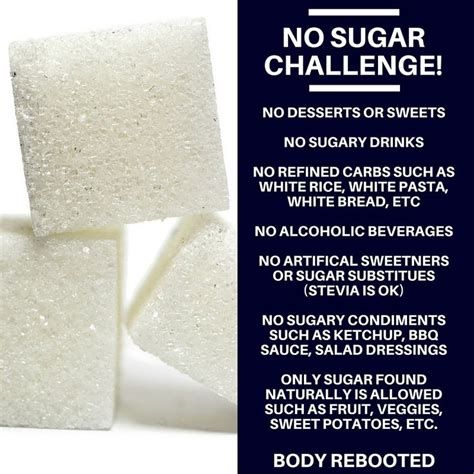 5 Dat Sugar Detox Challenge by No Sugar Challenge Who S With Me Rebooted