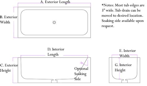 standard bath width standard bathtub width bathtub table 100 standard