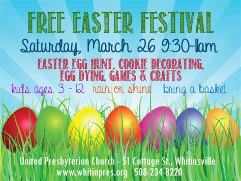 is easter a festival easter festival 2016 united presbyterian church