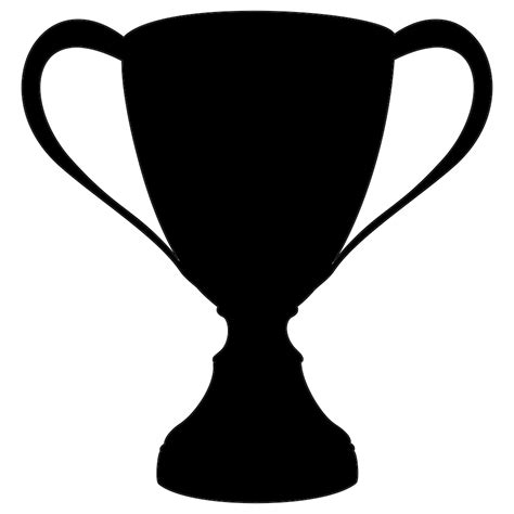 cup silhouette png different kinds of sports clipart