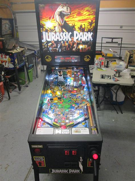 firebird pinball arizona pinball repair autos weblog jurassic park store images