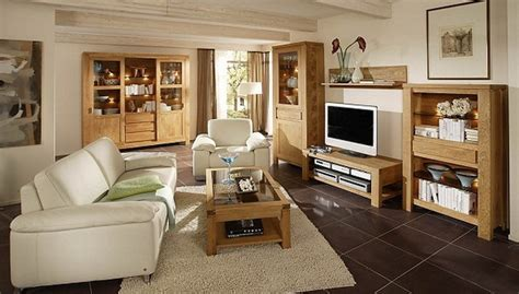 echtholzm 246 bel wohnzimmer - Echtholzmöbel Wohnzimmer